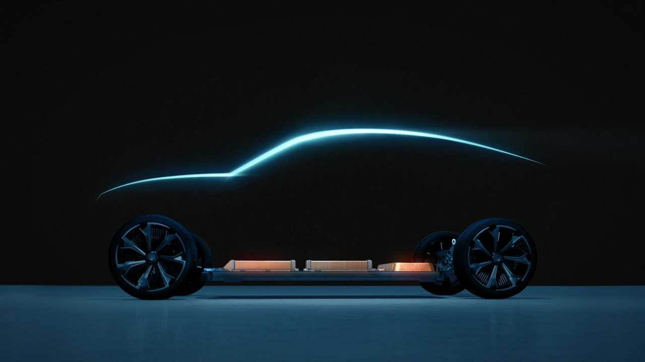 Chevroelt Camaro elétrico teaser