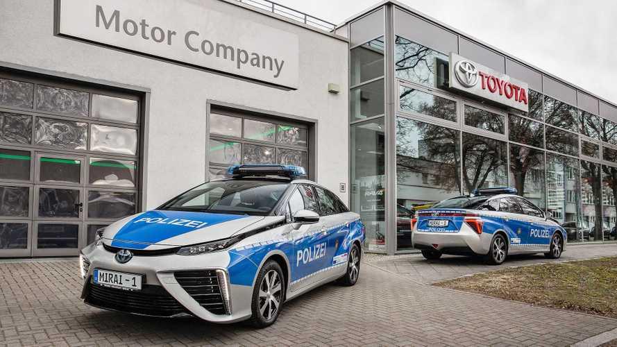 Toyota Mirai für die Berliner Polizei