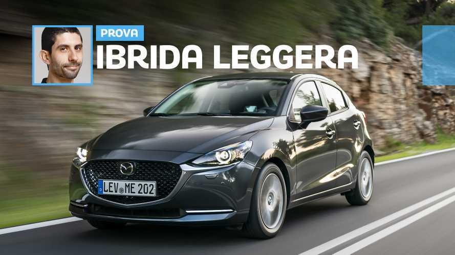 Mazda2 (2020), come va con il mild hybrid