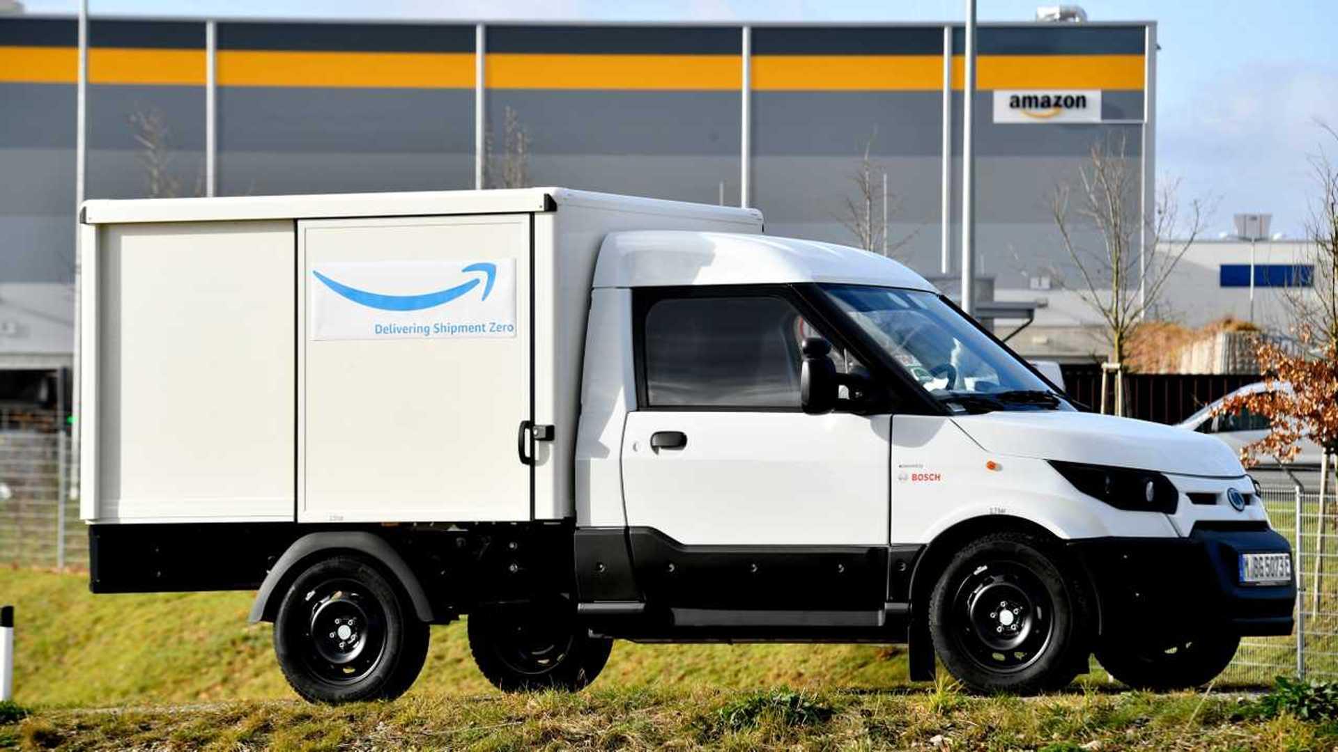 Furgoni elettrici, Amazon prepara la stazione da 340 colonnine