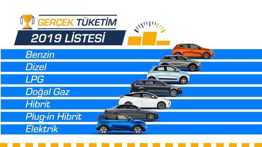 İşte 2019'un en verimli otomobilleri