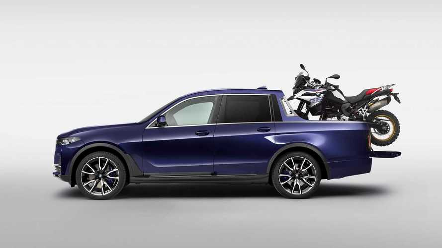 Electric BMW M Pickup Truck Is Not Out Of The Question