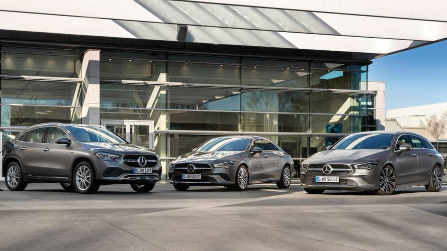 Mercedes-Benz  CLA 250e, GLA 250e Arrive With 215 HP Of PHEV Power