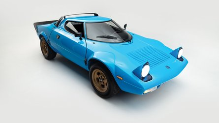 Lancia Stratos, all'asta una HF Stradale
