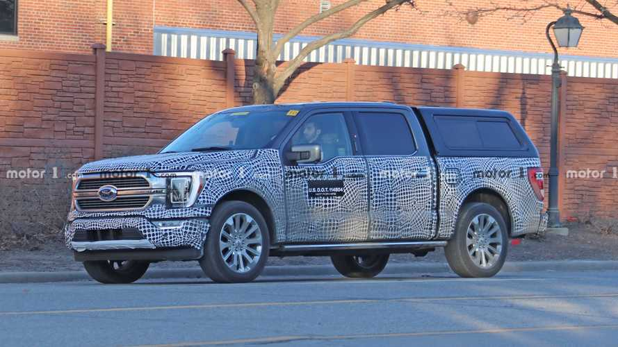 2021 Ford F-150 Interior To Get Nicer Materials, 15.5-Inch Screen?
