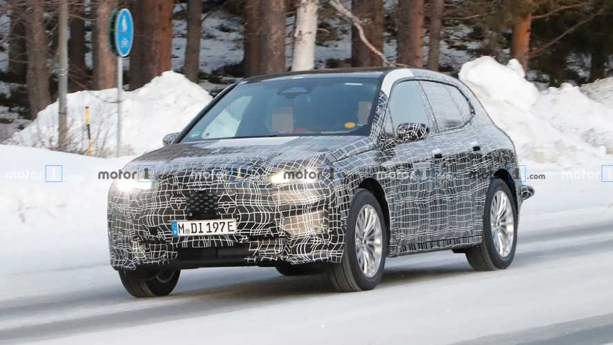 BMW iNext new spy photos