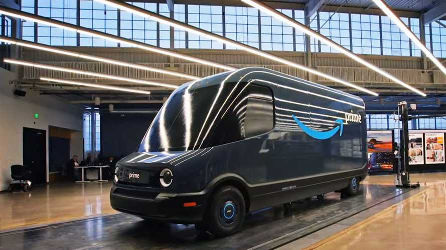 Video: Rivian's Amazon Van Shaping Up, Has Unique Features