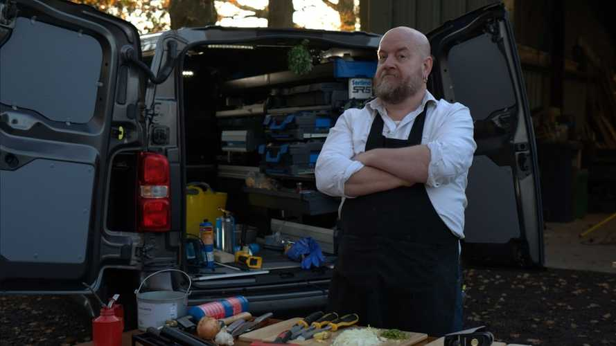 Vauxhall partners with anarchist chef as van drivers get health conscious
