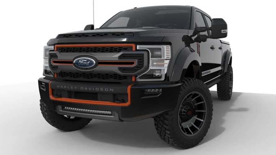 Ford F-250 Harley-Davidson Edition Joins Bike-Themed Truck Fleet