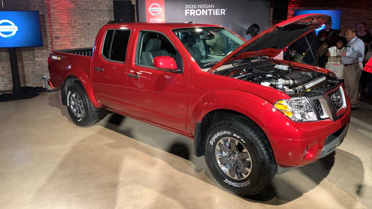 Nissan Frontier 2020 (EUA)