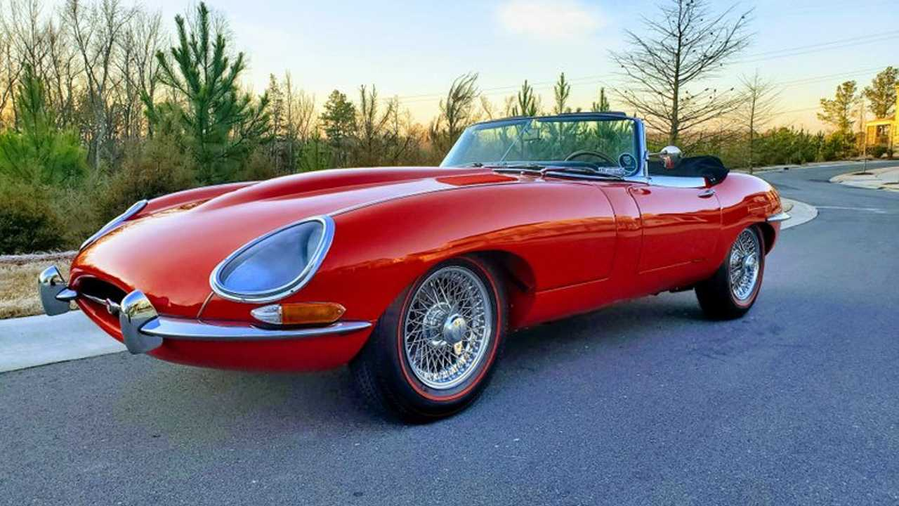 Restored, Two-Owner 1965 Jaguar XKE Is Concours Ready
