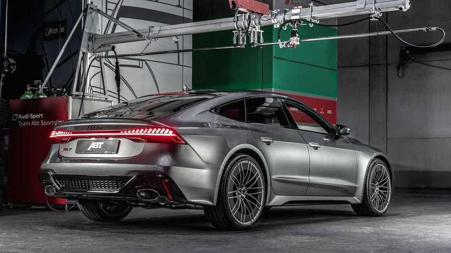 Az Audi RS7-et is a Lamborghini Huracan szintjére hozta az ABT