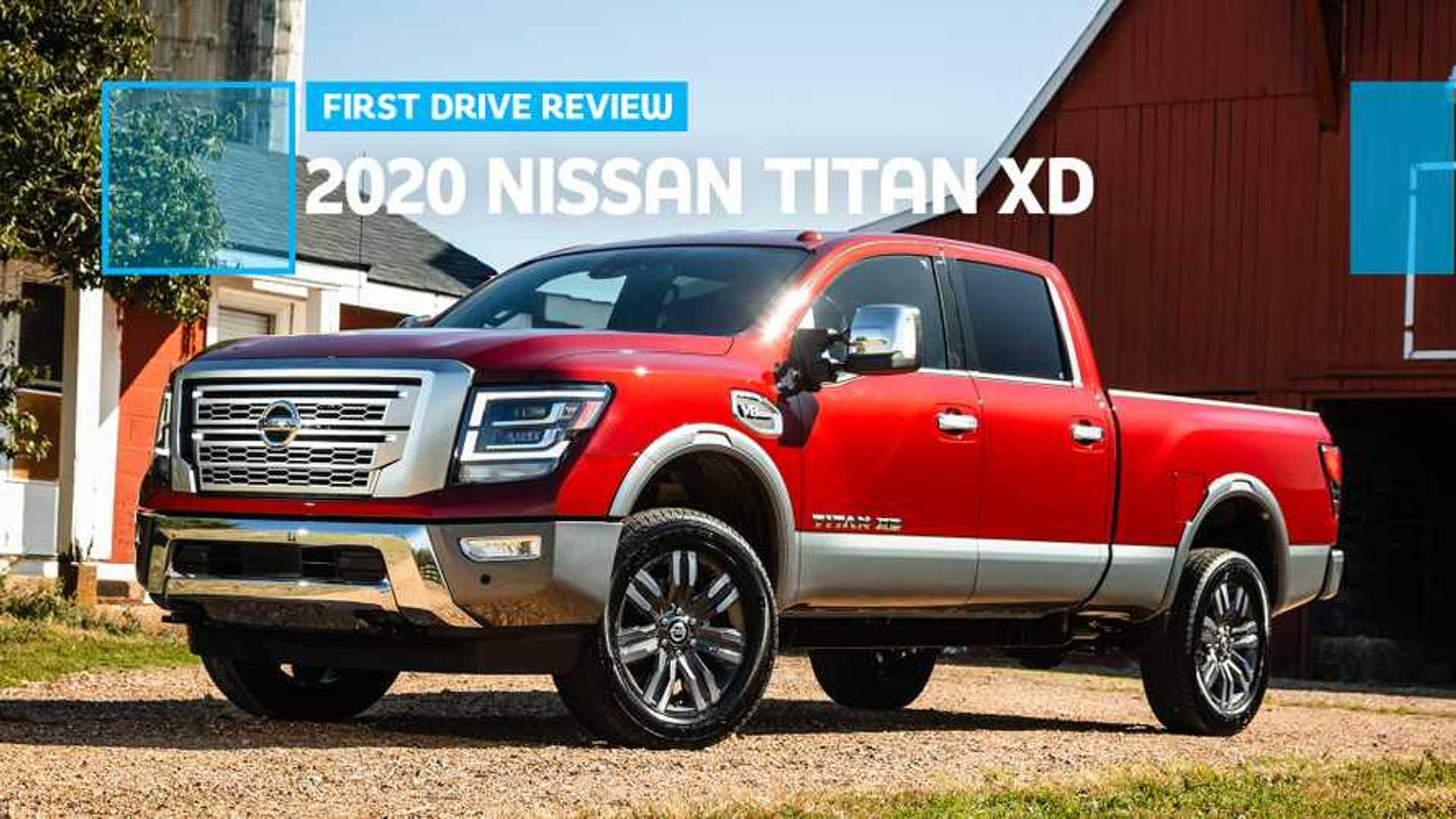2020 Nissan Titan Xd First Drive Review Still Fighting