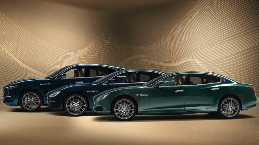 Maserati Ghibli, Quattroporte y Levante, en edición especial Royale