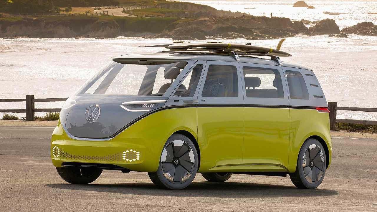 Die Elektro-Zukunft von VW: VW I.D. Buzz