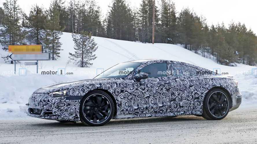Audi E-Tron GT 2021 - Flagra