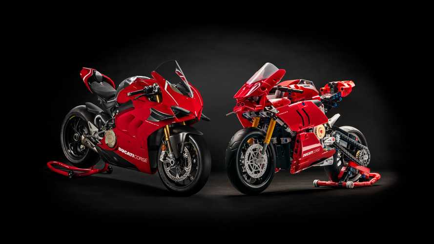LEGO Panigale V4 R lets you channel your inner bike builder