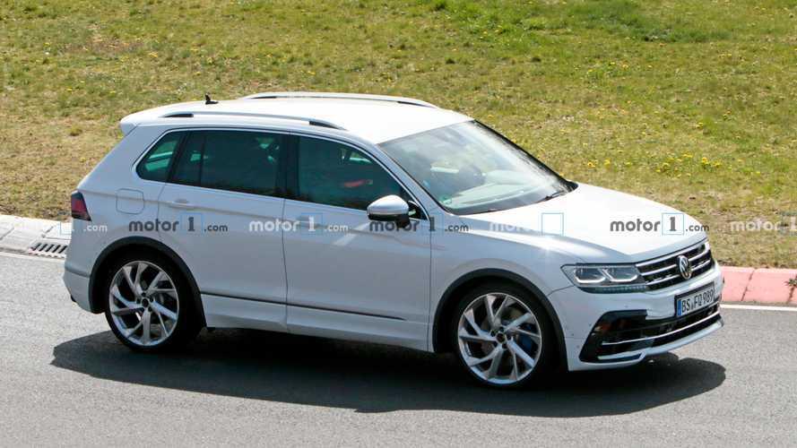 A Volkswagen a Tiguan R-t is kivitte pár körre a Nürburgringre