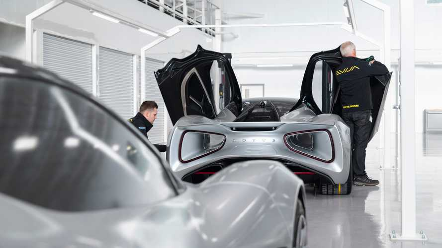 Lotus Evija factory