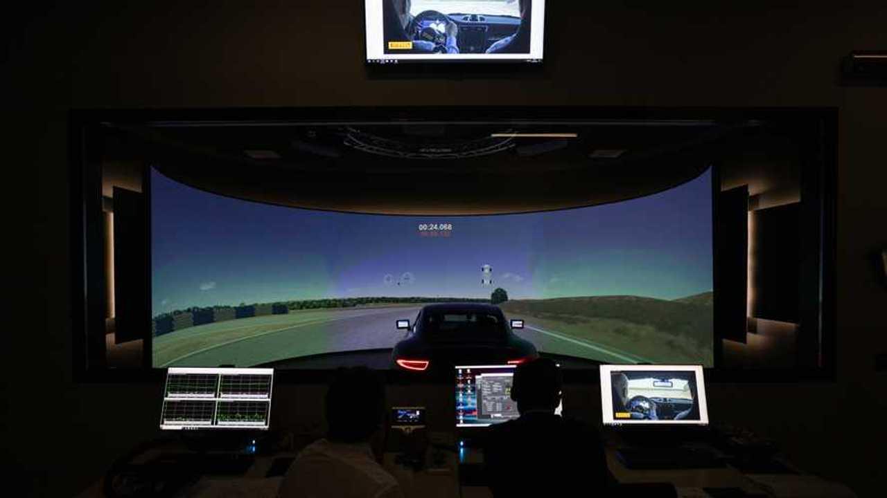 Il nuovo simulatore Pirelli