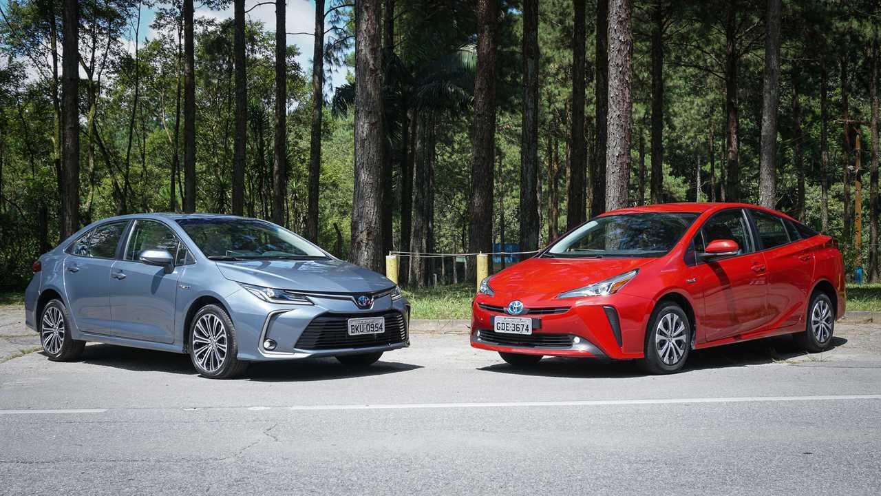 Toyota Corola Hybrid vs. Prius