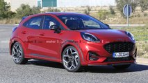 ford puma st spied unconcealed