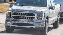 2021 Ford F-150 - новые шпионские фото