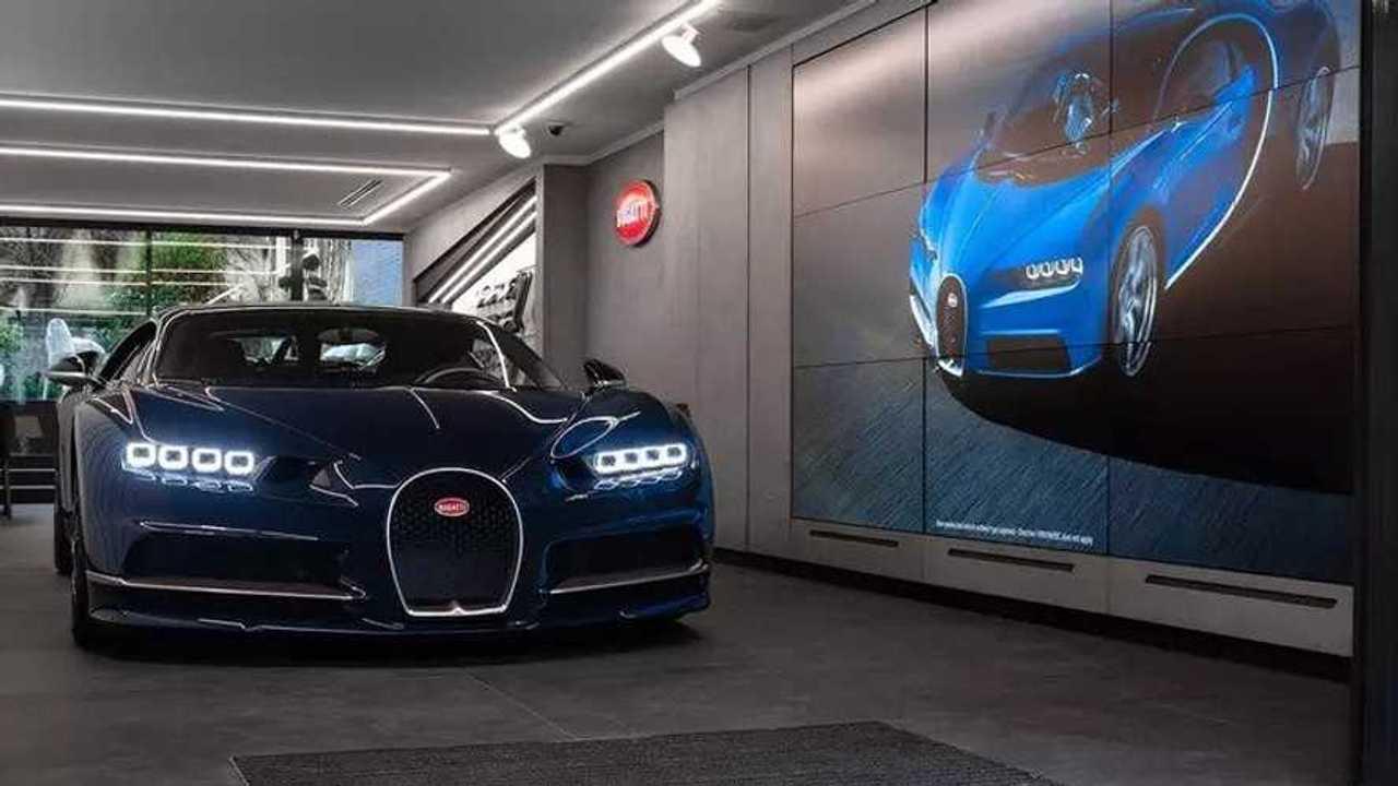 Bugatti, il nuovo showroom a Parigi