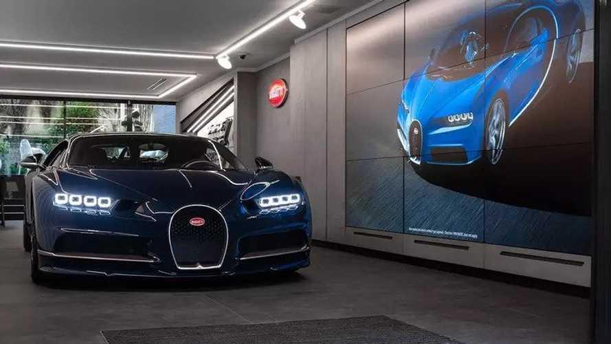 Bugatti, il 36esimo showroom apre a Parigi con un nuovo design