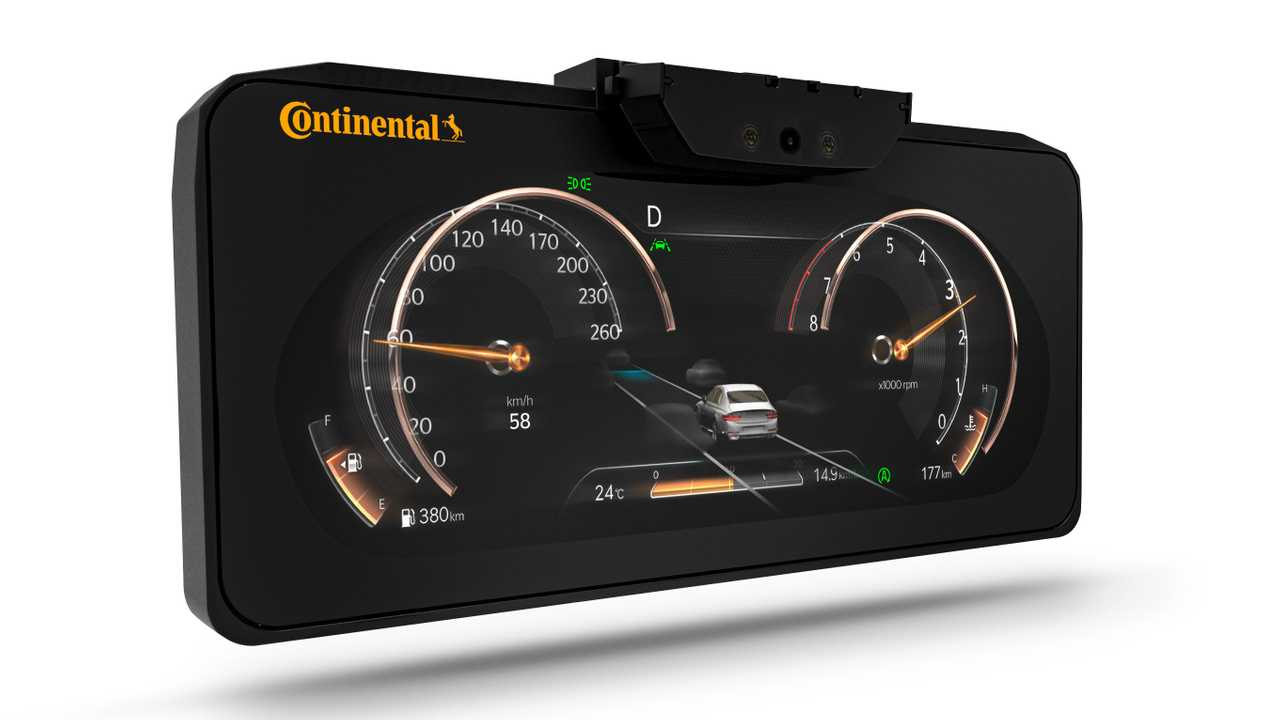 Genesis GV80 3D instrument cluster by Continental