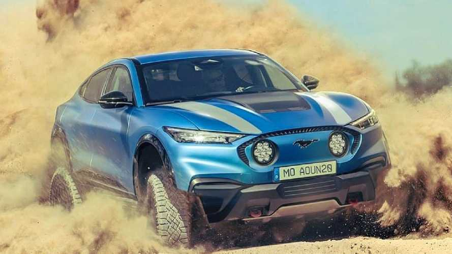 Ford Mustang Mach-E Baja Rendering Looks Like A Rad Off-Roader