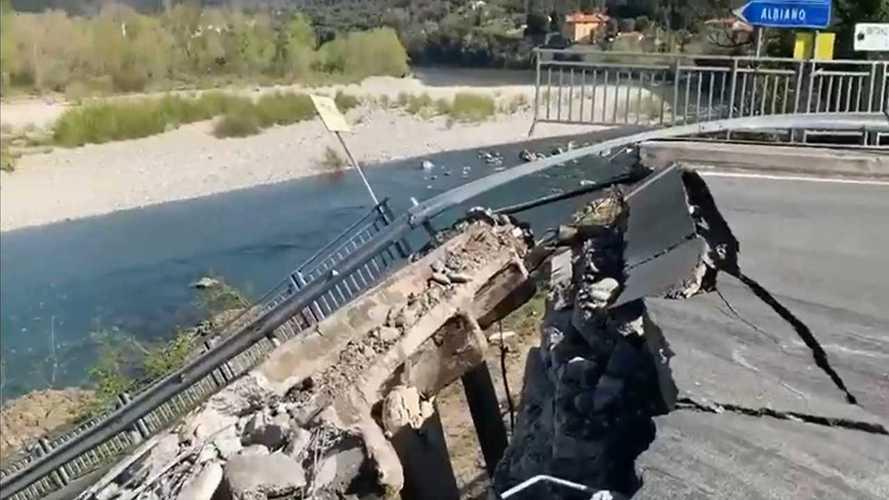 Ponte di Albiano Magra, doppia inchiesta per far luce sul crollo