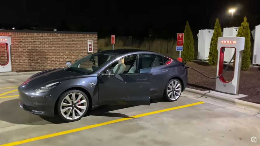 Tesla Model 3 Performance 1,500-Mile Road Trip Documented