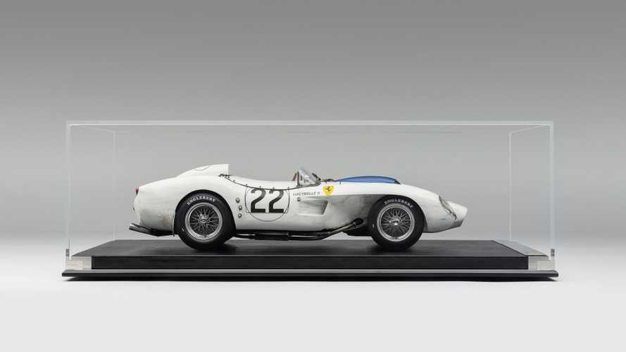 Scaled-Down 1958 Ferrari 250TR Is Identical To '58 Le Mans Racer