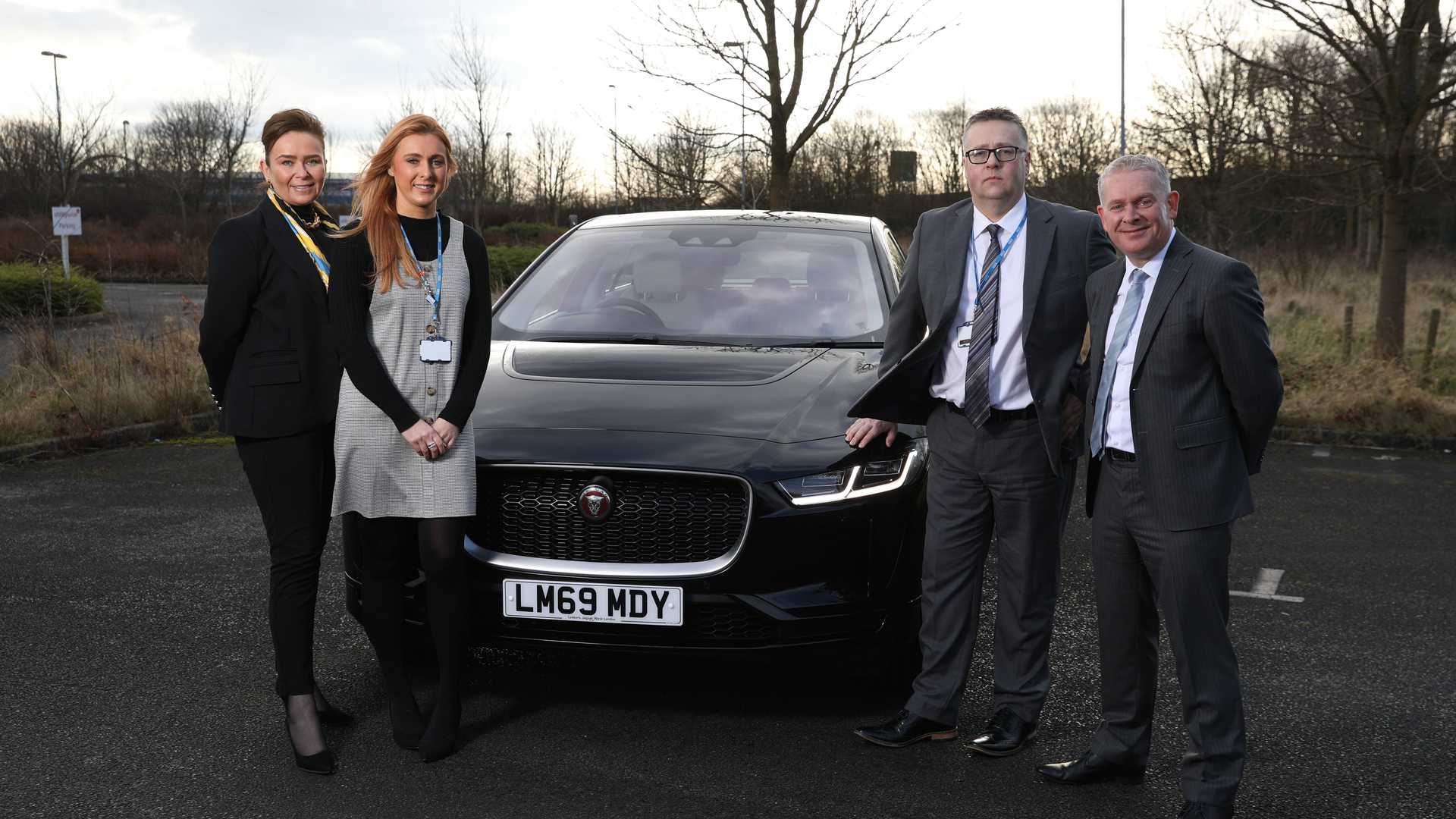 Jaguar to provide 700 I-Paces to NHS staff