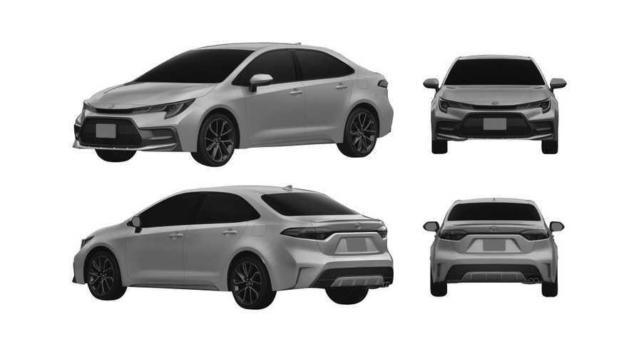 В России запатентовали Toyota Corolla в американском стиле