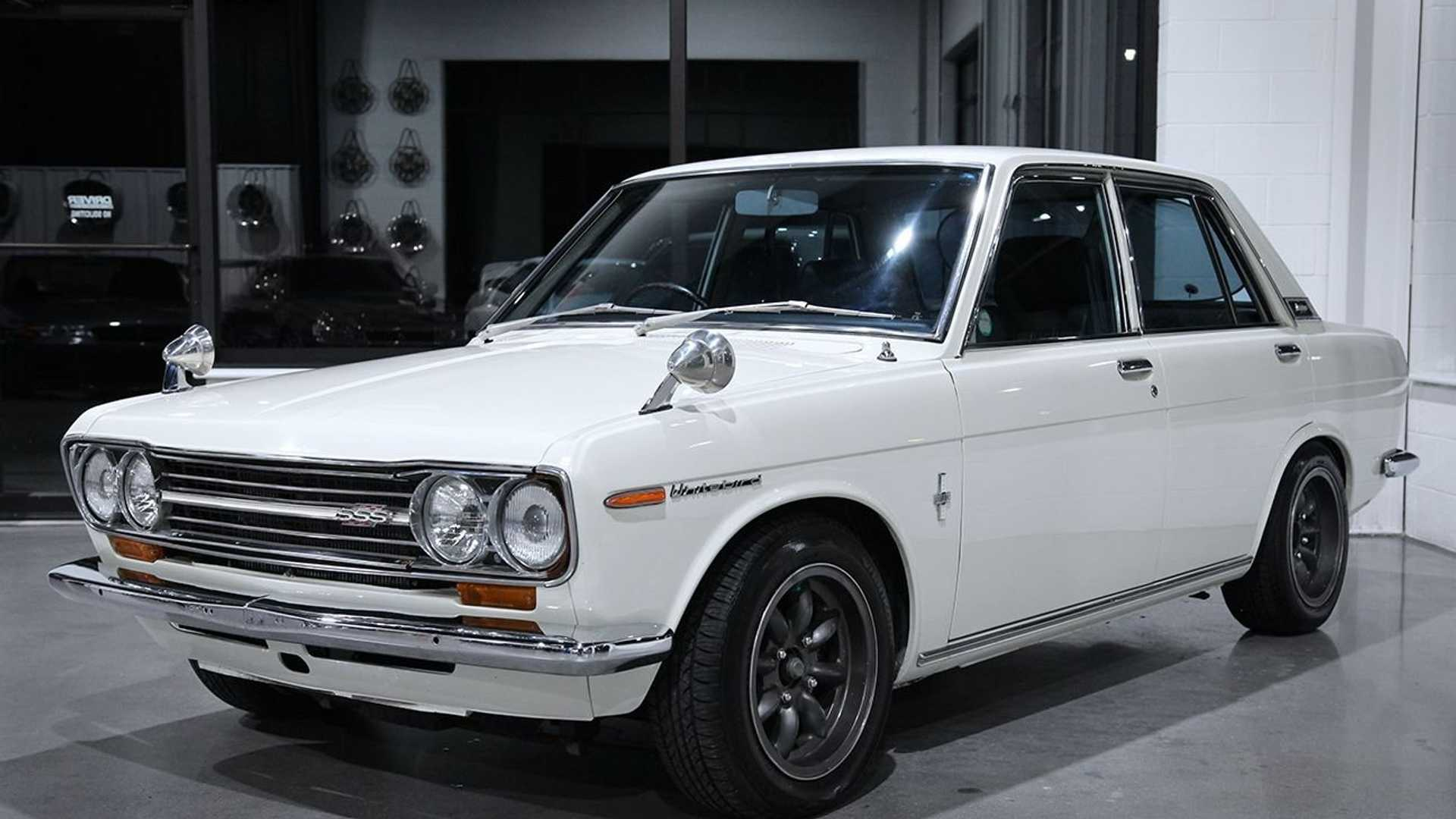 """[""""1969 Nissan 510 Bluebird Packs An SR20 Surprise""""]"""