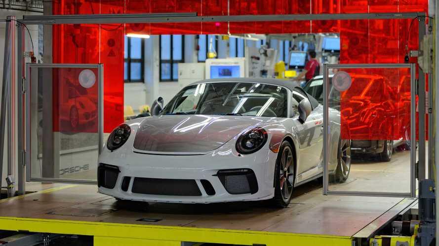 Último Porsche 911 de la generación 991 salió de la línea de montaje