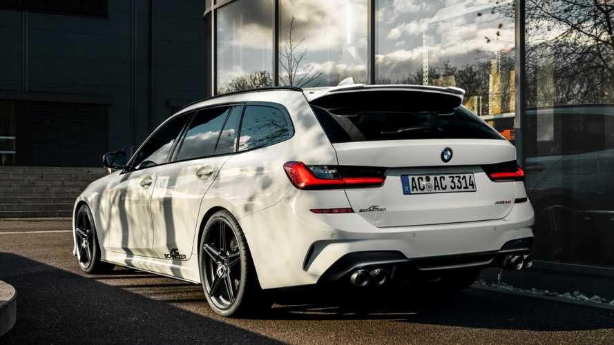 300 lóerő fölé pumpálta az AC Schnitzer a 3-as BMW-t
