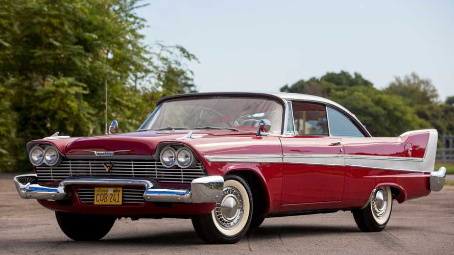 Star Car 1958 Plymouth Fury 'Christine' Heading To Mecum