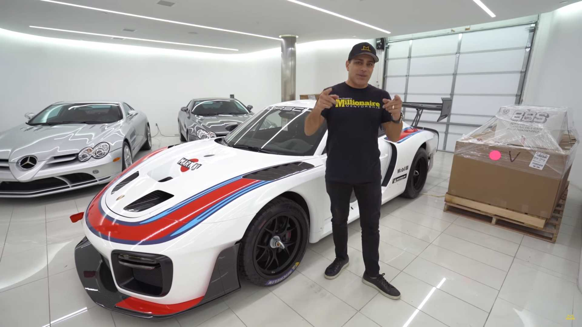 Porsche 935 owner gives a tour of his 911 GT2 RS-based race car