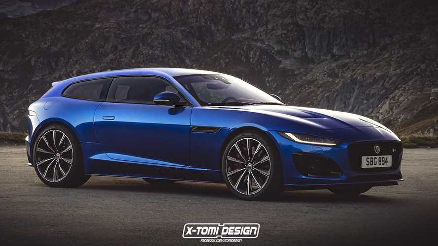 2021 Jaguar F-Type Looks Dreamy As Shooting Brake