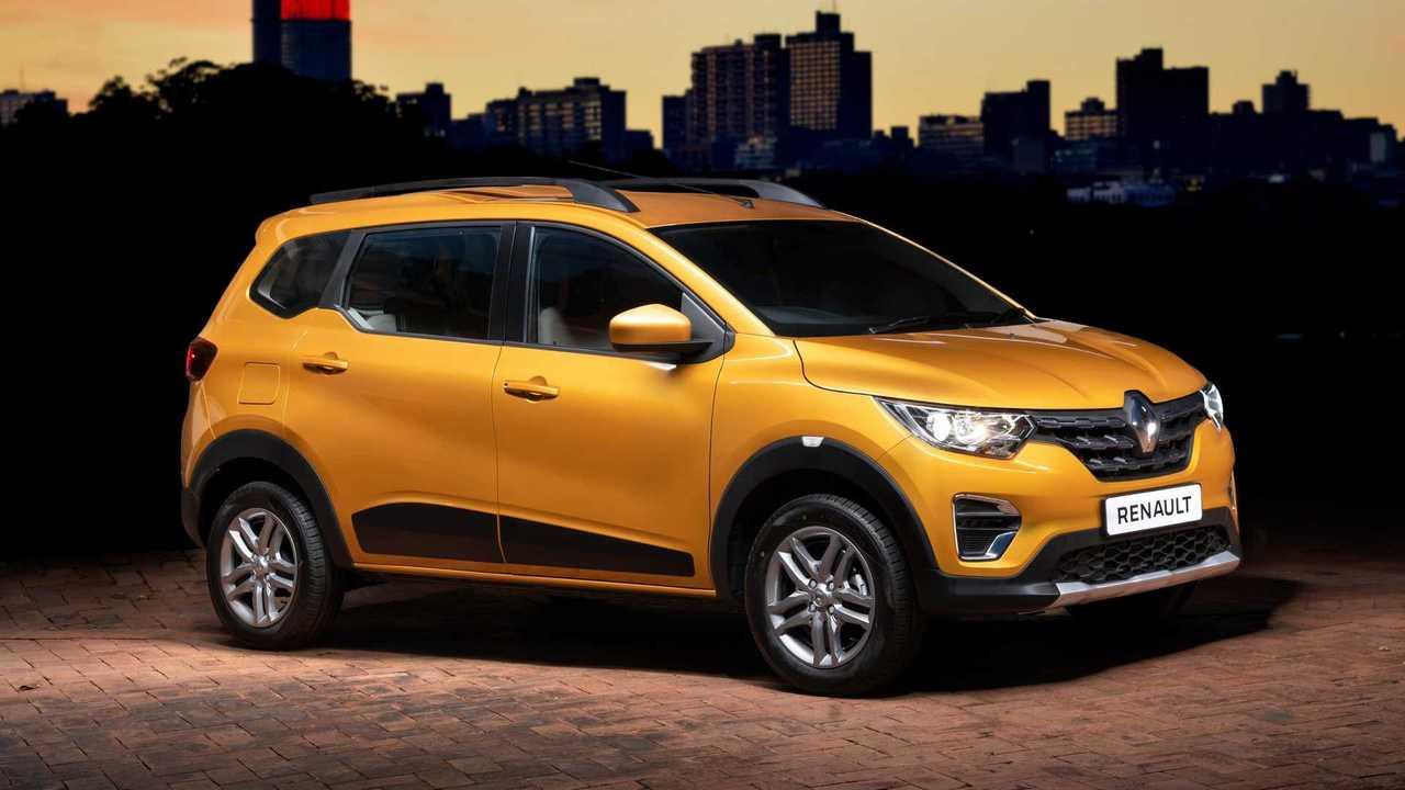 Renault Triber Minivan Ja Vende Mais Que Kwid E Duster Na India