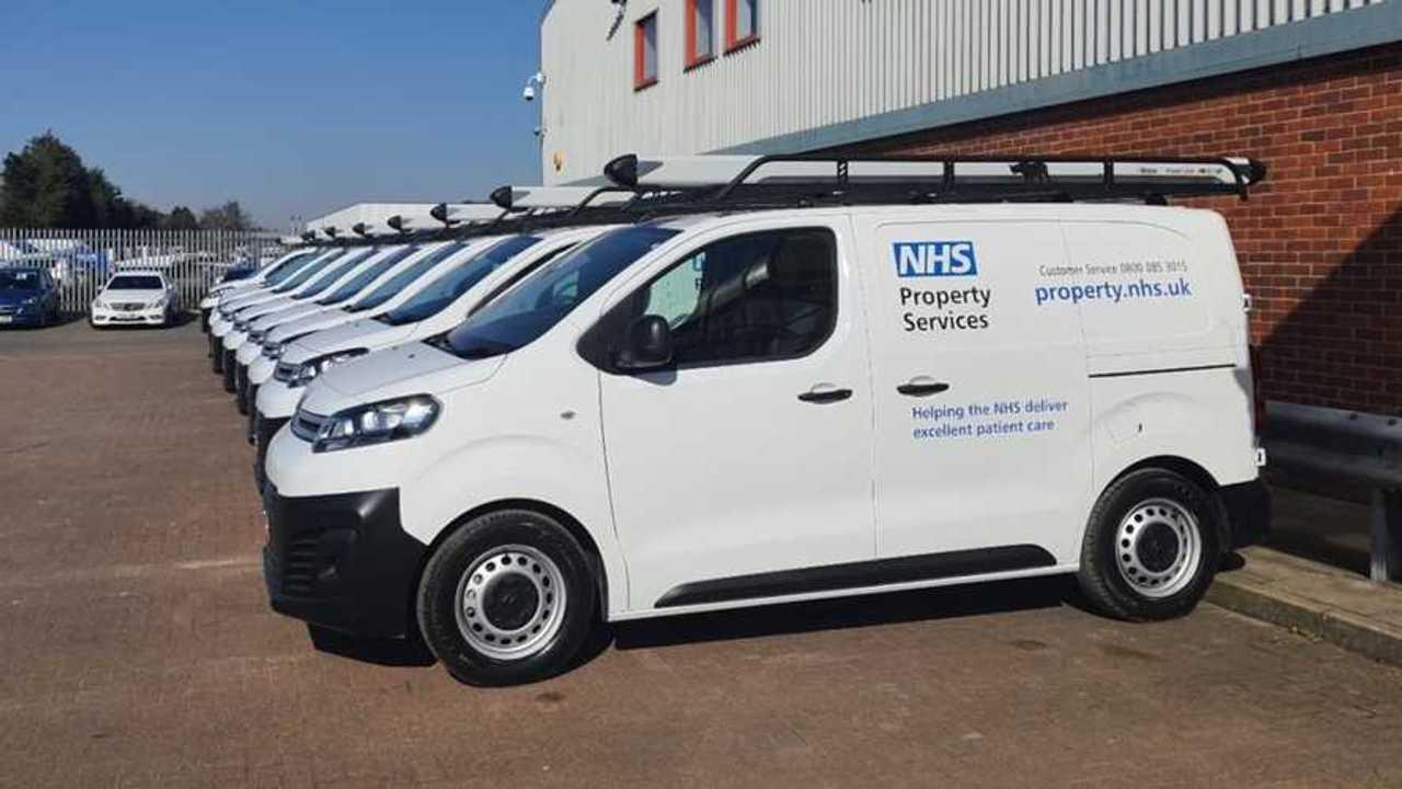 Citroen provides NHS facilities management with 70 new vans
