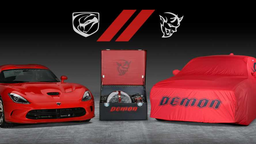 Last Dodge Viper and Demon to be joint-auctioned for charity