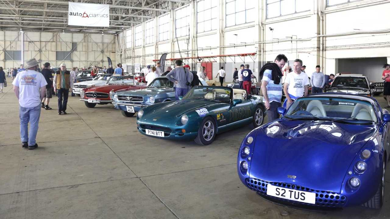 See the amazing variety of cars at the first AutoClassics Mart