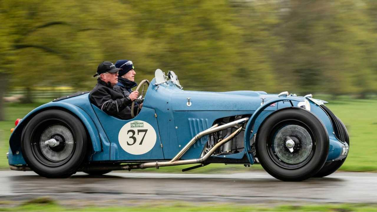 Rare 1939 Alta wins 10th Flying Scotsman Rally