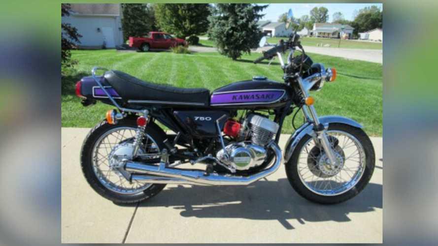 1974 Kawasaki H2 750 Mach IV For Sale