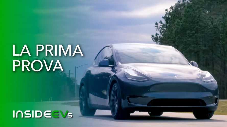 Tesla Model Y, la prova in anteprima del crossover di Elon Musk