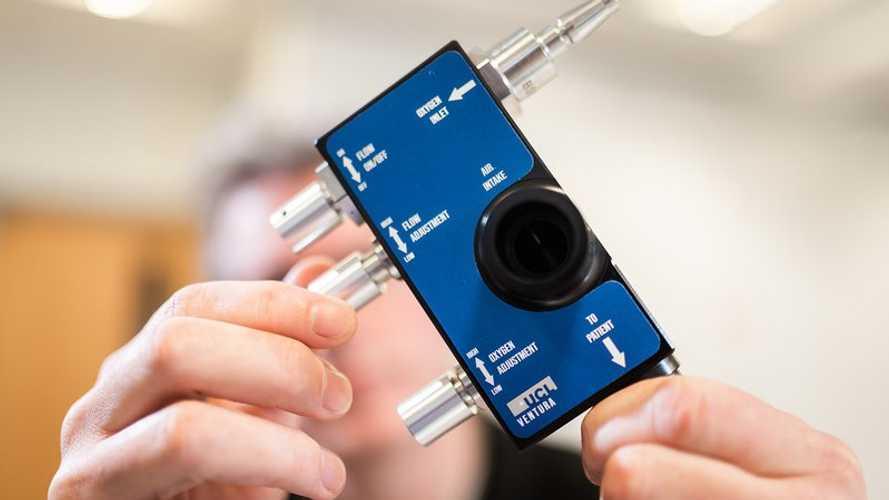 Mercedes a conçu un respirateur pour lutter contre le COVID-19